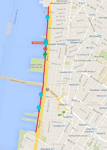 Stache Dash NYC Route